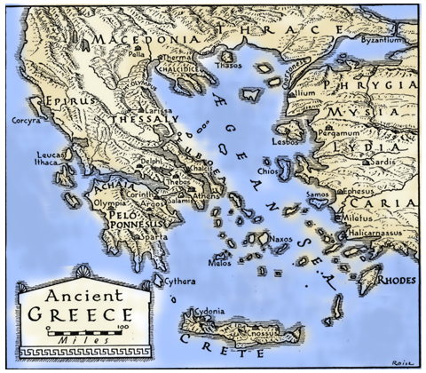 Dvd translations the glory of heracles labors of the divine hero map of ancient greece gumiabroncs Images