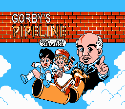 Gorby Title Screen